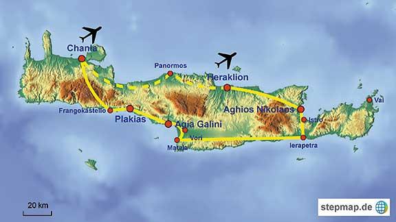 Lernen Sie Kreta In Griechenland Auf Unserer Individuellen
